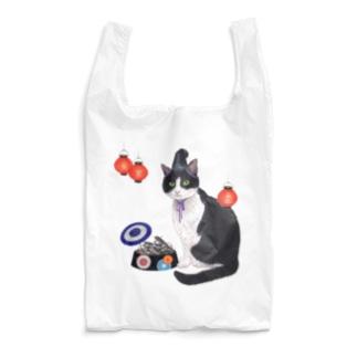 烏帽子×煮干し ~エボシ×ニボシ~ Reusable Bag