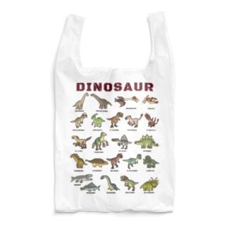 ちょっとゆるい恐竜図鑑 Reusable Bag