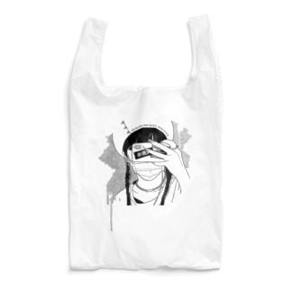 🙈🙉🙊(WHITE) Reusable Bag