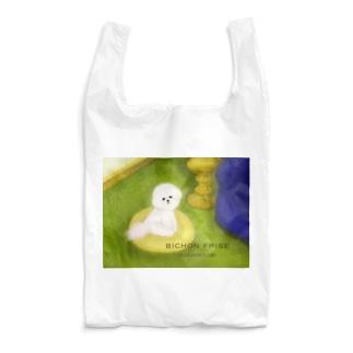 ほほえみビションちゃん ロゴ入り Reusable Bag