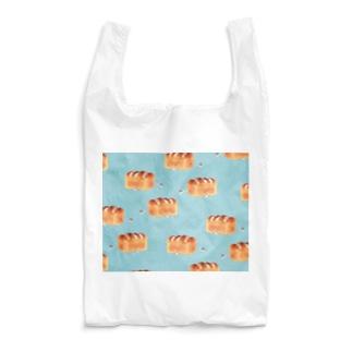 イラストレーター おおでゆかこの食パンに埋もれたいうさぎ Reusable Bag