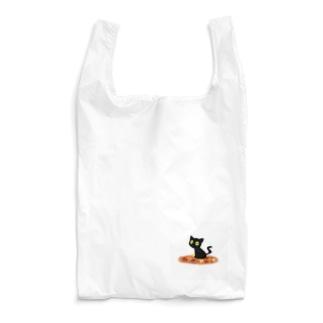 くろネコの秋 Reusable Bag