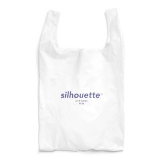 silhouette - navy Reusable Bag