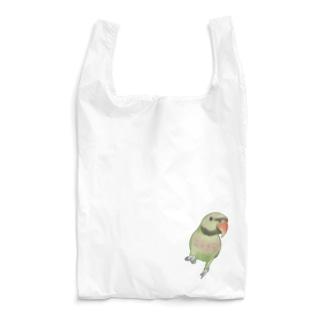ご機嫌なダルマインコちゃん【まめるりはことり】 Reusable Bag