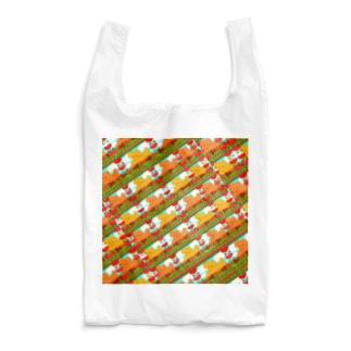 🐩プードルファミリー犬とチューリップ🌷 Reusable Bag