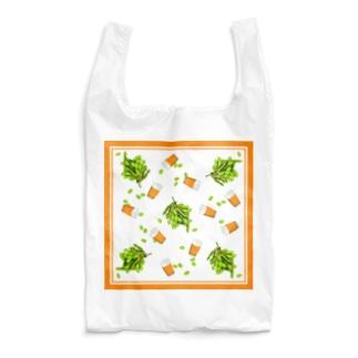 枝豆でビール Reusable Bag