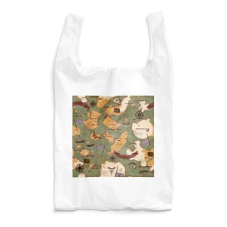 アンティークマップ(レッドフラッグ) Reusable Bag