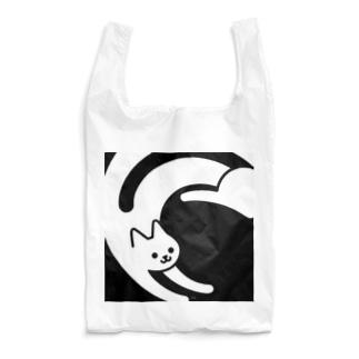 黒白猫 Reusable Bag
