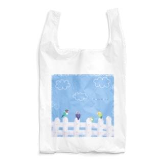 フェンスのラブバード Reusable Bag
