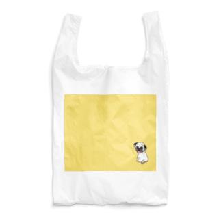 きいろのパグ Reusable Bag