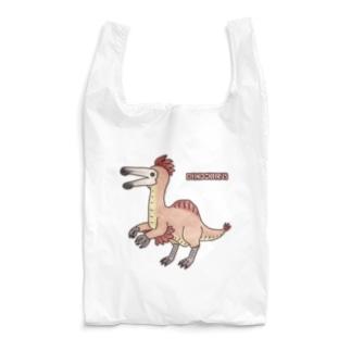 恐竜 デイノケイルス Reusable Bag