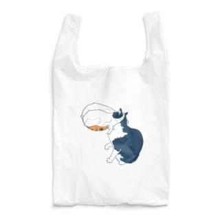袋が取れない猫 Reusable Bag