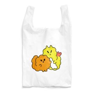 おしゃれな揚げ物姉弟 Reusable Bag