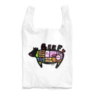 うし部位① Reusable Bag