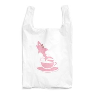 ティーカップとSAME/サメ Reusable Bag