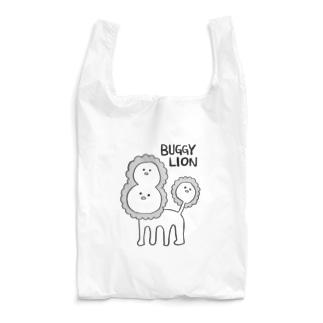 バグッたライオン(かっこいい英語) Reusable Bag