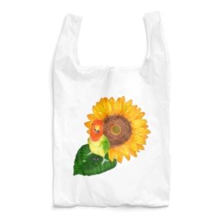 【コザクラインコ】枠なしバイキングオピーチョ Reusable Bag