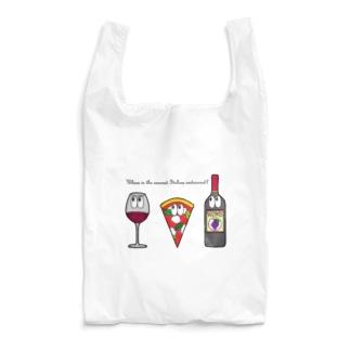 ピザ/モンスター Reusable Bag
