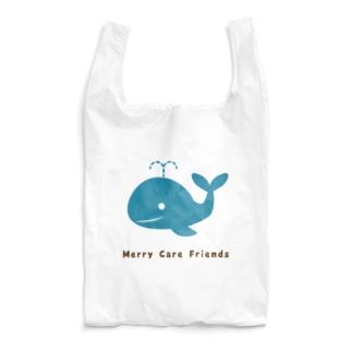 くじらさん Merry Care Friends Reusable Bag