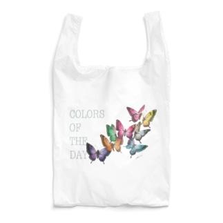 誕生日の色の蝶々 Reusable Bag