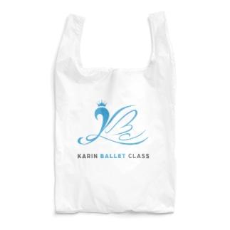 Karin ballet class ロゴ  Reusable Bag
