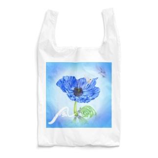 風 青いアネモネ Reusable Bag
