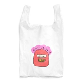 かきぴーたべよ Reusable Bag