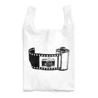 Film&Camera(黒) Reusable Bag