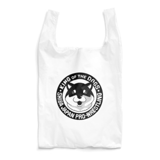 柴日本プロレス(黒柴) Reusable Bag