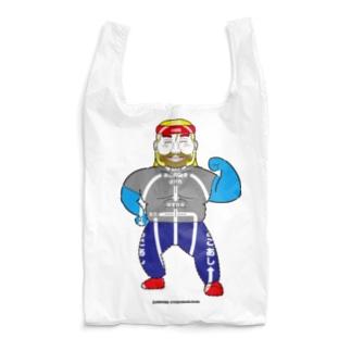 架空似顔絵図人間2.1 Reusable Bag