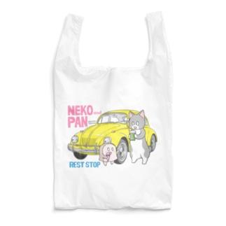 ねことパンちゃんのドライブイン Reusable Bag