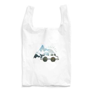 ポカラの思い出 ヒマラヤ山脈/青空 Reusable Bag