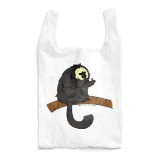 シロガオサキのモップくん Reusable Bag