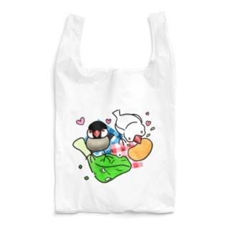もぐもぐ文鳥ず② Reusable Bag