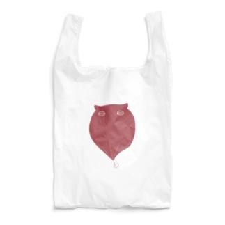 メンダコ(赤) Reusable Bag