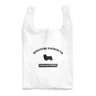 ONEHAPPINESS ミニチュアダックスフンド Reusable Bag