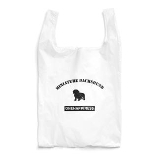 ONEHAPPINESS ミニチュアダックスフンド スムース Reusable Bag