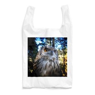 森の中のブー(カラーバージョン) Reusable Bag