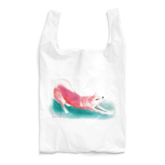 Snow Tailのノビノビわんこ Reusable Bag