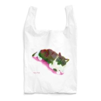 Snow Tailののんびりにゃんこ Reusable Bag