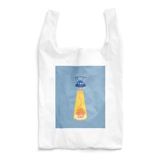 ナポリタン泥棒(blue) Reusable Bag