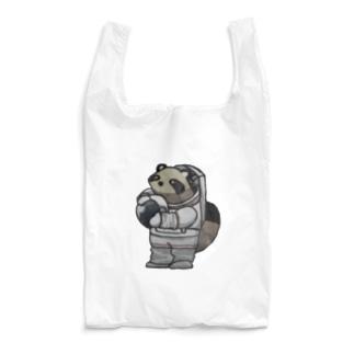 アストロたぬき Reusable Bag