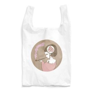 桃色の紫煙 Reusable Bag