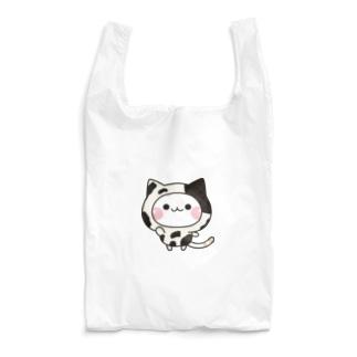 気づかいのできるネコ 牛さんver. Reusable Bag
