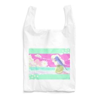 檸檬とツバメと海と。 Reusable Bag