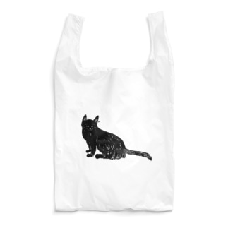 黒猫おこげちゃん Reusable Bag