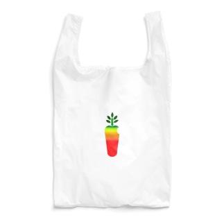 carrot computer(rainbow) Reusable Bag