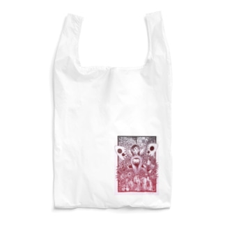 おしゃ霊合星人 Reusable Bag