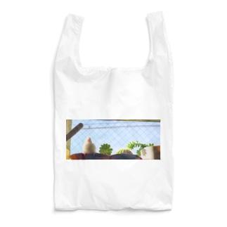 白文鳥のチマフミ Reusable Bag