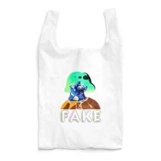 山口 むつおの凶のハンドサイン 80's【裏】 Reusable Bag
